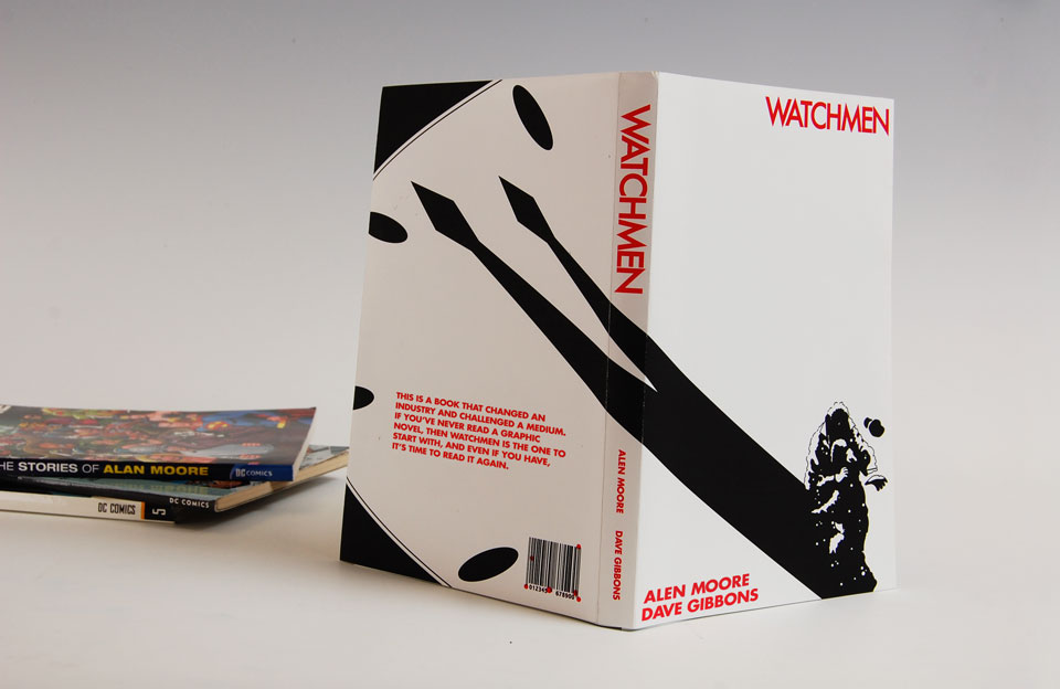 Watchmen Alternative Book Cover